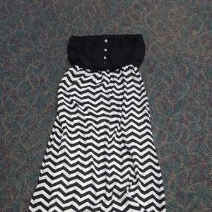 Bisou  Bisou Strapless Dress
